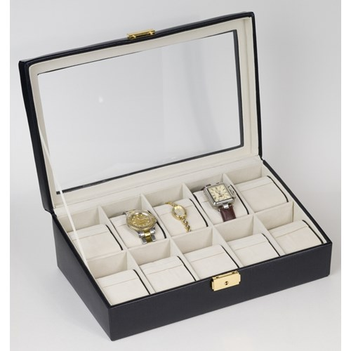 10 Watch Box With Glass Top