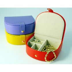 High Color Jewel Box with Bowed Front