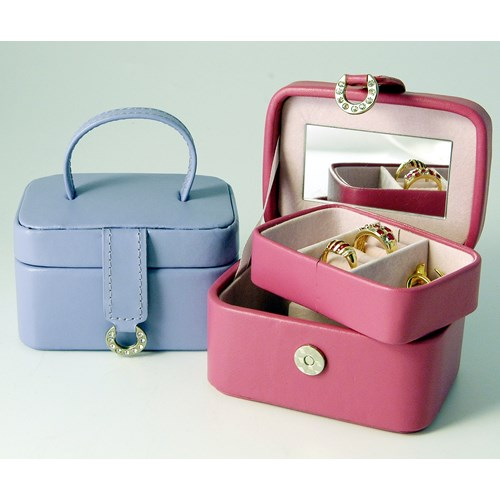 Petite Leather Jewel Box