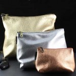 3-d Leather Clutch: Large