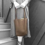 Belmont Leather Tote Bag: Small/Lined