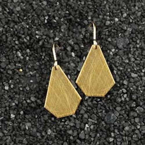 Crazy Cut Earrings: Medium