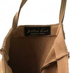 Davis Leather Tote Bag: Large/Unlined