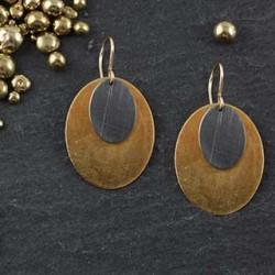 Dbl Oval Earrings