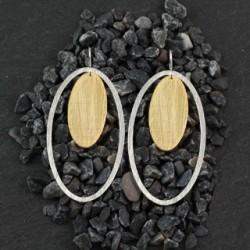 Double Oval Earring