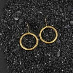 Flat Ring Earring: #1