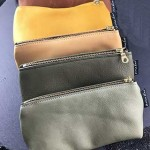 Leather Sunglass Case:lined