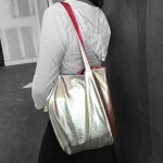 Leather Tote Bag: Reversible