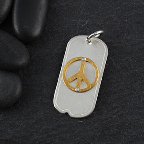 Lg Dog Tag Icon Pendant
