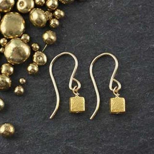 Microcube Earring