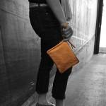 Sequoia Leather Wristlet
