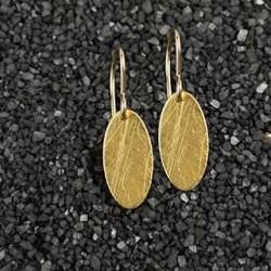 Skinny Oval Earring #1
