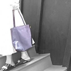Sonoma Leather Tote Bag: Small/Unlined
