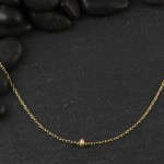 Stardust Rondelle Necklace
